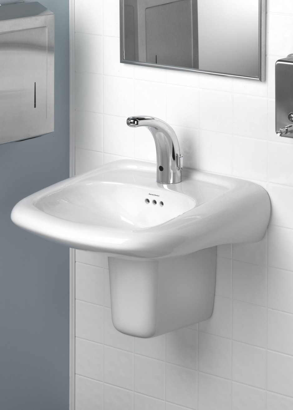 Universal Design Wall Hung Sink Ideal For Demanding Applications Hvac P