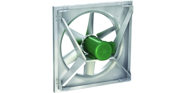 Direct Drive Propeller Fan : Greenheck introduces model aer direct drive sidewall